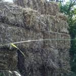 Muur van stro
